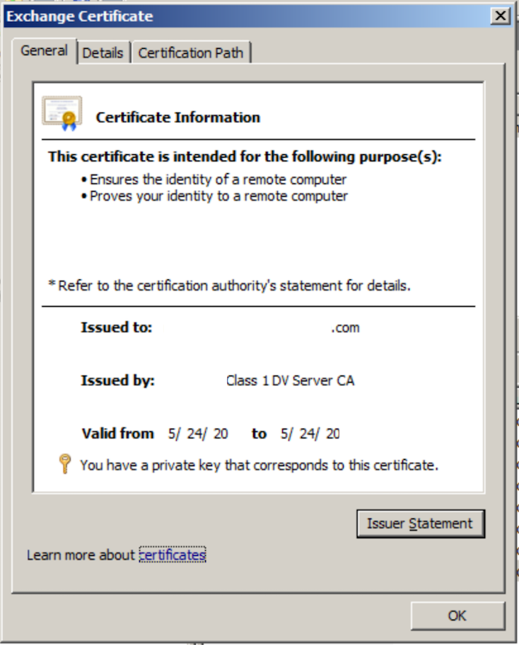 Ssl Certificates Import A 3rd Party Ssl Certificate To Exchange